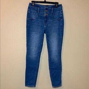 Hugh Waist Refuge Skinny Jeans